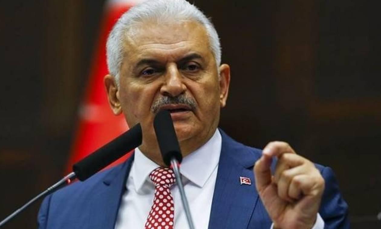Στην Αθήνα ο Τούρκος πρωθυπουργός