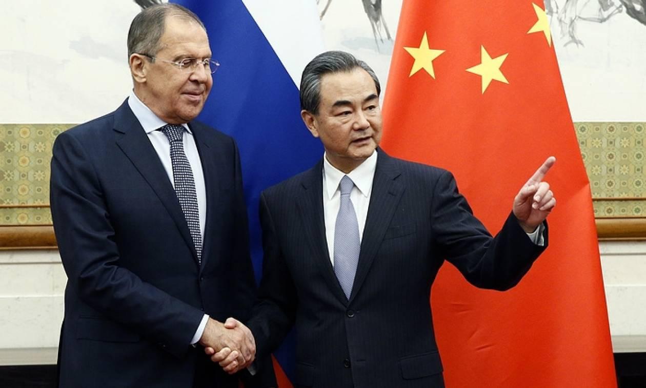 Лавров: между Россией и Китаем установились многогранные стратегические отношения