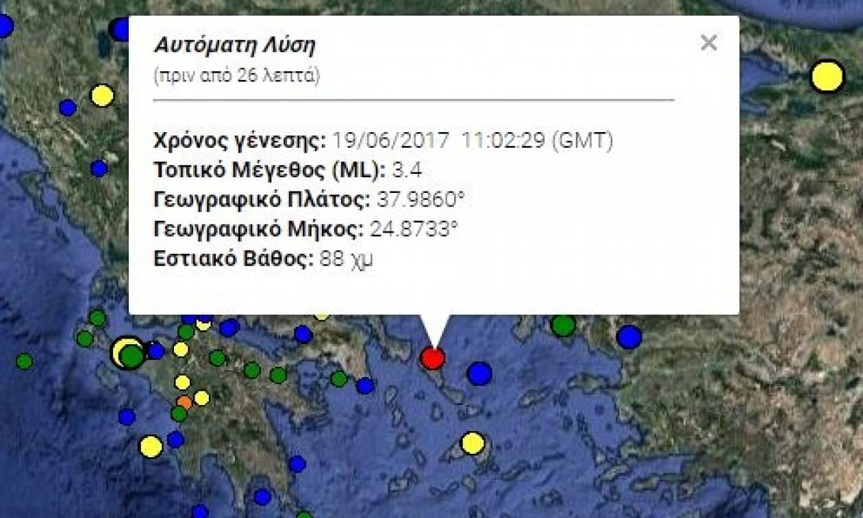 Σεισμός ΤΩΡΑ στην Άνδρο