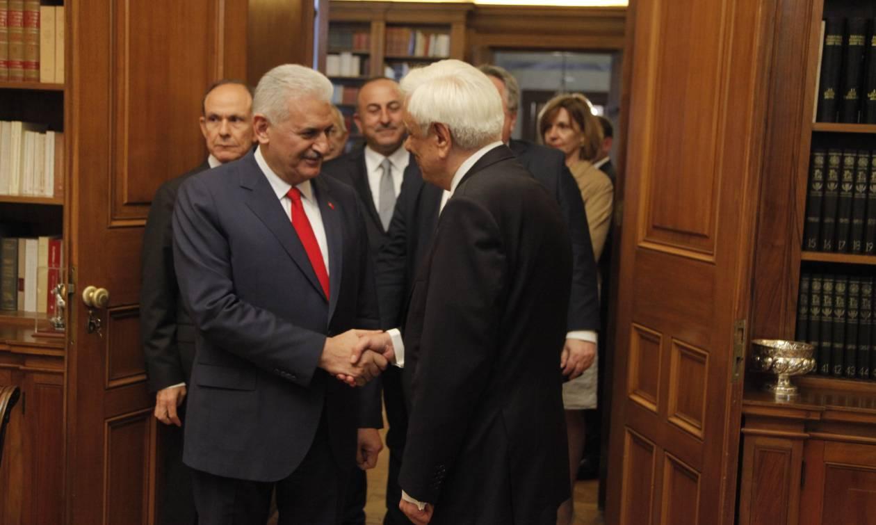 Επίσκεψη Γιλντιρίμ - Παυλόπουλος: Εκείνα που μας χωρίζουν είναι πολύ λιγότερα από αυτά μας ενώνουν