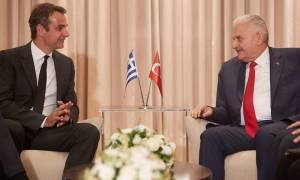 Ελληνοτουρκικές σχέσεις, Κυπριακό και μεταναστευτικό στην συνάντηση Μητσοτάκη - Γιλντιρίμ