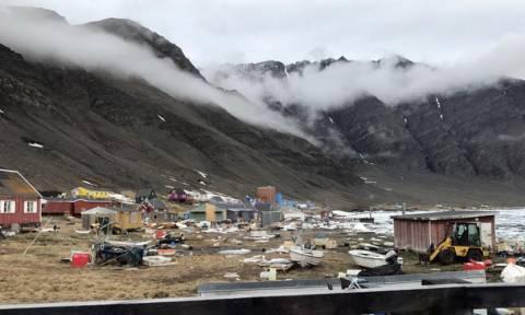 Τσουνάμι «χτύπησε» τη Γροιλανδία: Αγνοούνται τέσσερα άτομα (vid)