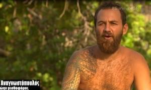 Survivor: H απαίτηση του Μισθοφόρου και οι νέες δηλώσεις κατά του Αγγελόπουλου!