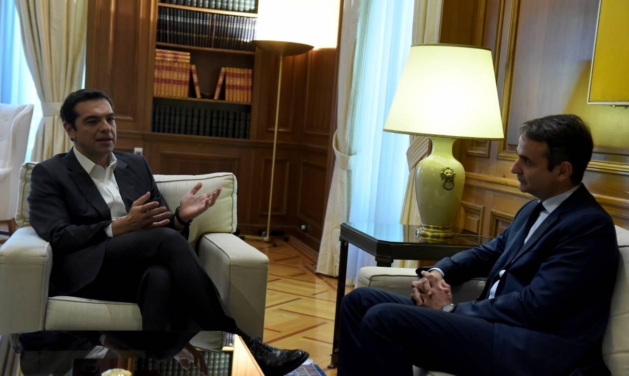 Μητσοτάκης σε Τσίπρα: Θα τα πούμε στη Βουλή για τη διαπραγμάτευση - Να μάθει ο λαός την αλήθεια