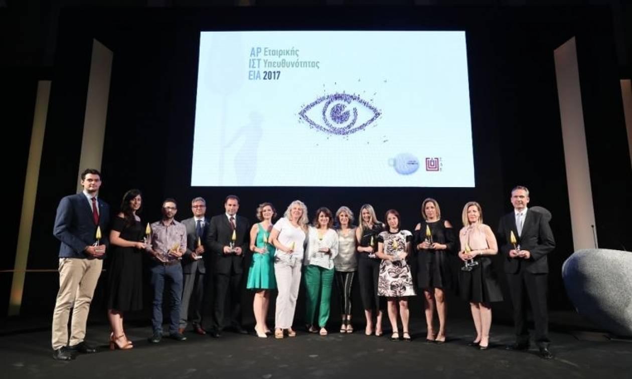 Όμιλος ΟΤΕ: Πέντε βραβεία στα Αριστεία Εταιρικής Υπευθυνότητας του ΣΔΕ