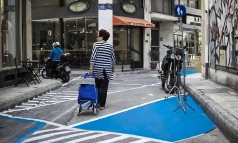 Αθήνα: Αναβάλλονται για τις 6 Ιουλίου τα εγκαίνια τεσσάρων πεζοδρομήσεων