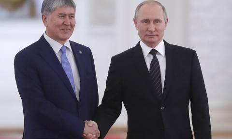 Путин рассчитывает, что РФ и Киргизия останутся близкими союзниками и надежными друзьями