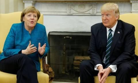 Η Μέρκελ κλείνει το «μάτι» στον Τραμπ: Μια ισχυρή Ευρώπη είναι προς το συμφέρον των ΗΠΑ
