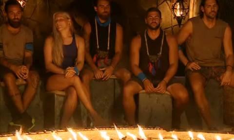 Survivor: Οι «Μαχητές» είναι πλέον τέσσερις... Δείτε ποιος αποχώρησε από το παιχνίδι (video)