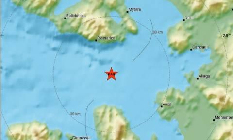 Новое землетрясение произошло на Лесбосе
