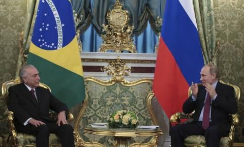Путин посетит Бразилию с официальным визитом