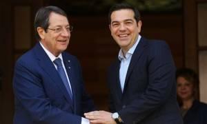 Κυπριακό: Συνάντηση Τσίπρα - Αναστασιάδη στις Βρυξέλλες