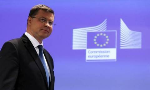 Dombrovskis outlines EU Commission's plan for investments and employment in Greece