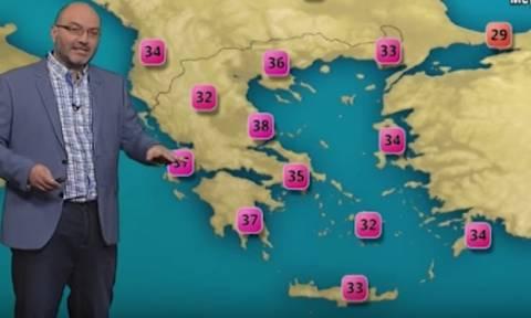Καιρός: Η προειδοποίηση του Αρναούτογλου για την επερχόμενη ζέστη διαρκείας (video)