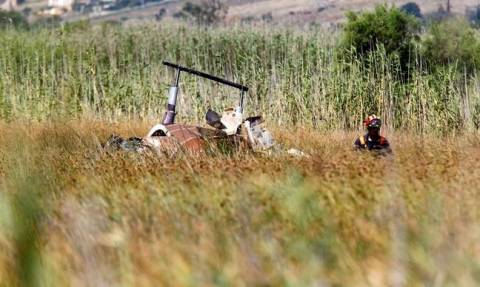 Two dead, one injured in helicopter crash in Schinias wetland (vid)