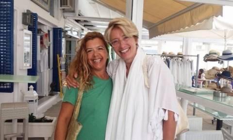Οι διακοπές της Emma Thompson στην Ελλάδα