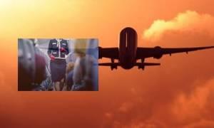 Πανικός σε πτήση προς Άμστερνταμ! Νεαρός απειλούσε να δείρει αεροσυνοδό