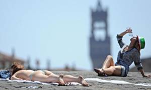 Καιρός: Ισχυρός καύσωνας «σαρώνει» την Ιταλία – Συναγερμός λόγω λειψυδρίας