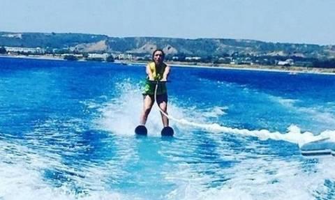 Αλεξάνδρα Πασχαλίδου: Διακοπές στην Κω με την κόρη της! (pics + vid)