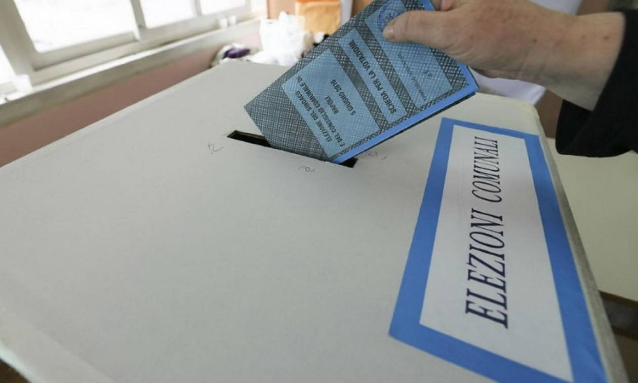 Αποτέλεσμα εικόνας για δημοτικές εκλογές στην Ιταλία