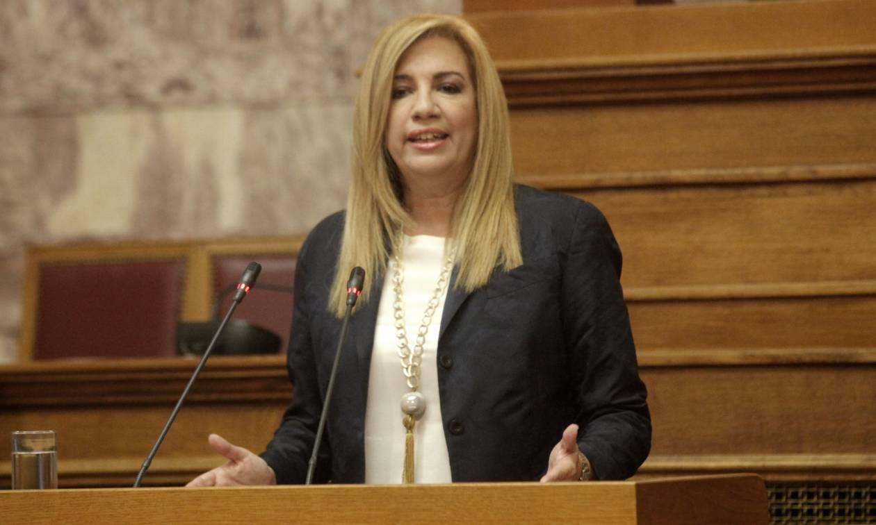 Γεννηματά «αδειάζει» Τσίπρα: «Καμένο χαρτί» η πρότασή του για συνεργασία