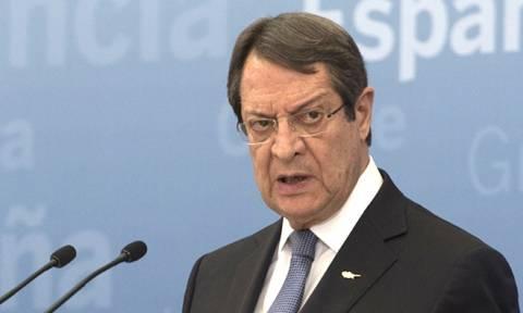 Никос Анастасиадис отклонил предложение ООН по кипрскому урегулированию