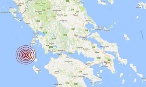 На острова Кефалонья произошло землетрясение 4,3 балла