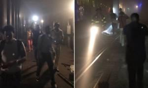 ΗΠΑ: Χάος από τον εκτροχιασμό συρμών στο μετρό της Νέας Υόρκης (pics+vid)