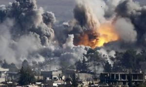 Συρία: 57 νεκροί από βομβαρδισμό του διεθνούς συνασπισμού εναντίον του Ισλαμικού Κράτους
