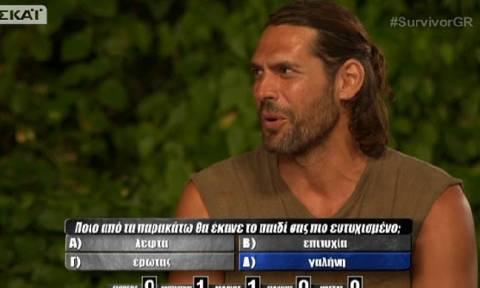 Survivor: Ο Σπαλιάρας αποκάλυψε πως είναι ερωτευμένος