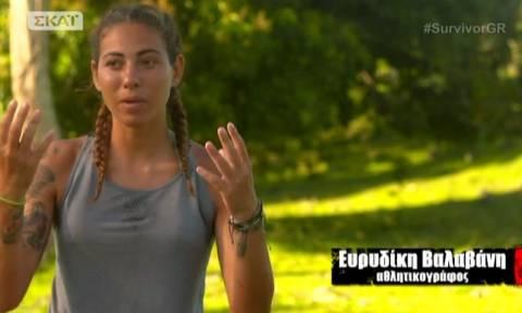 Survivor: Δείτε την πρώτη φωτογραφία της Ευρυδίκης Βαλαβάνη μετά την αποχώρηση της!