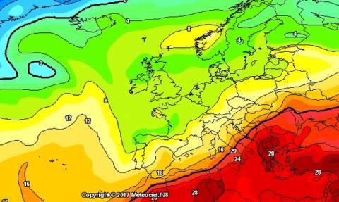 Ο Καιρός σήμερα: Μετεωρολογικές προγνώσεις για την Ελλάδα και τον καύσωνα που έρχεται
