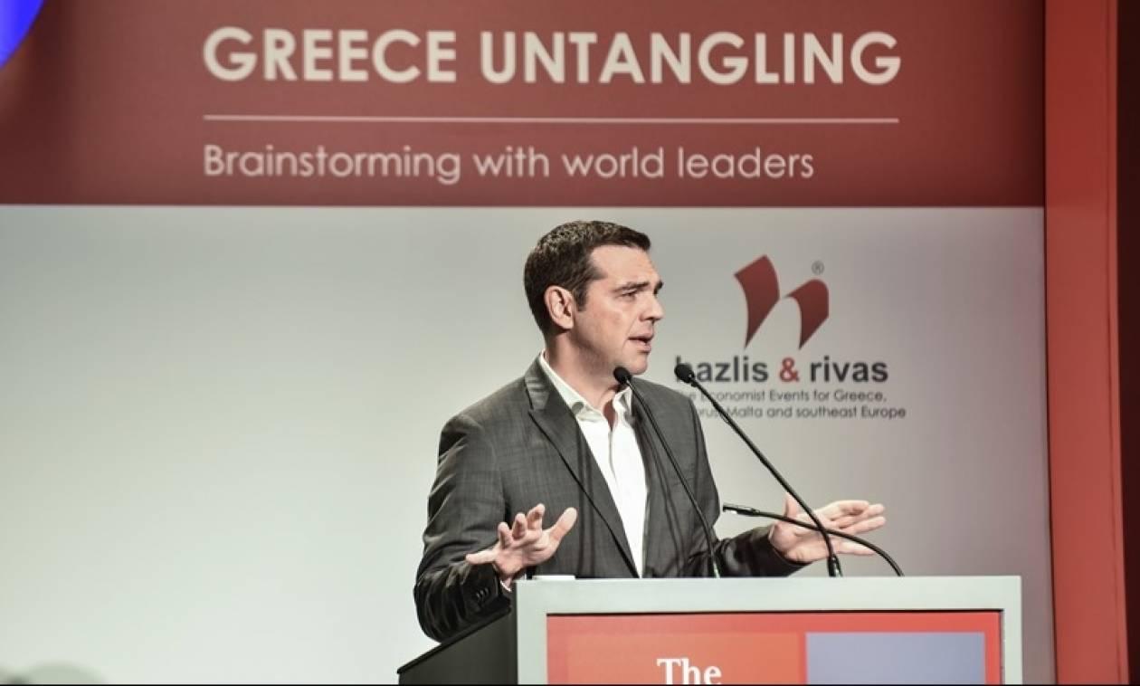 Τσίπρας από Economist: Από το 2018 η έξοδος της Ελλάδας στις αγορές