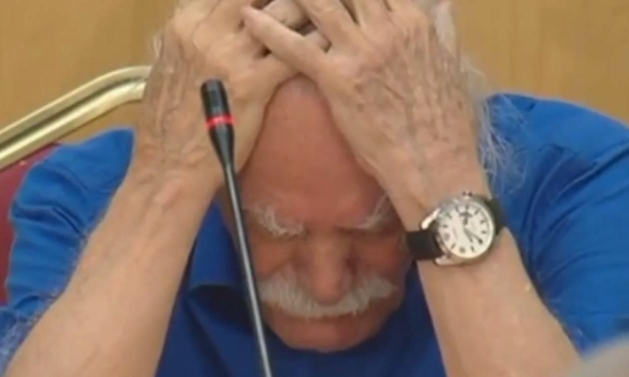 Συγκλόνισε ο Μανώλης Γλέζος: Ομιλία με λυγμούς μπροστά στον Τσίπρα (vid)
