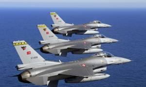 Συναγερμός στο Αιγαίο: Μπαράζ παραβιάσεων από τουρκικά αεροσκάφη