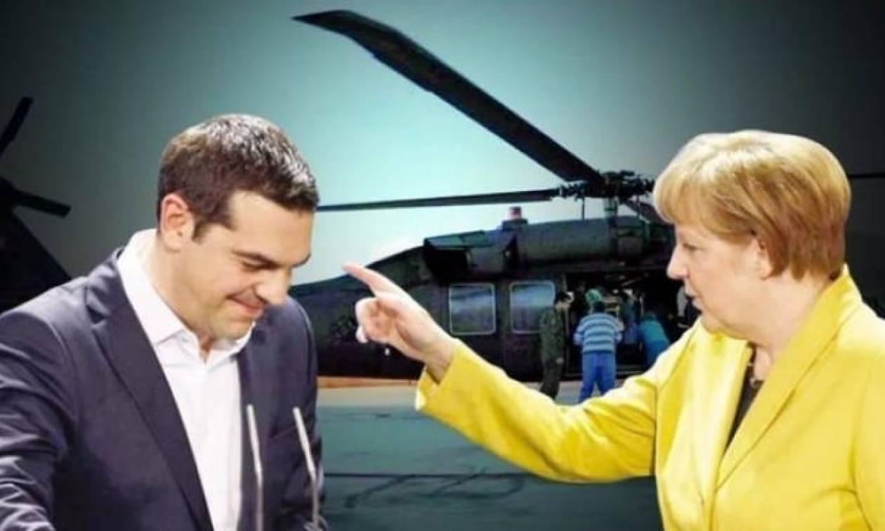 «Βόμβα» τουρκικής εφημερίδας: Η Γερμανία κρύβεται πίσω από τη μη έκδοση των «8» (vid)