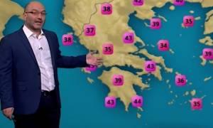 Καιρός: Τι προβλέπει ο Σάκης Αρναούτογλου για τη συνέχιση του καύσωνα; (Video)
