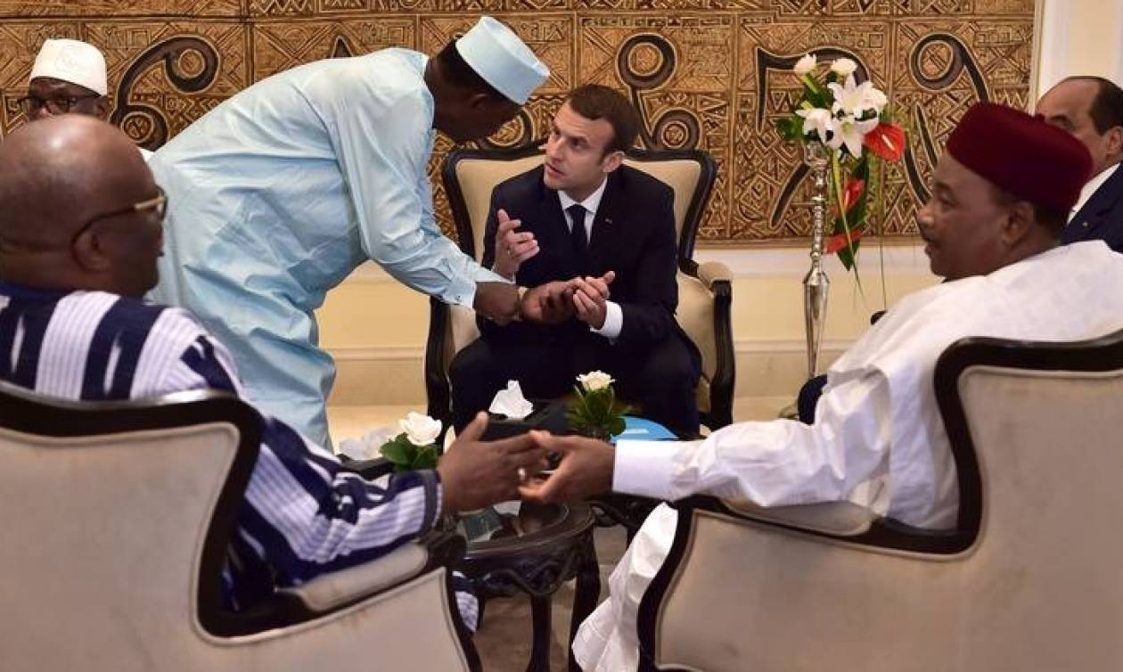 Μακρόν: Η Γαλλία θα βάλει τα δυνατά της να εξαλείψει τους τρομοκράτες