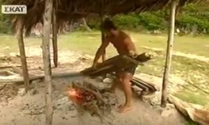 Ξέσπασε ο Ντάνος - Έκαψε το σκέπαστρο: «Ακολουθεί και η καλύβα, δεν θα αφήσω τίποτα»