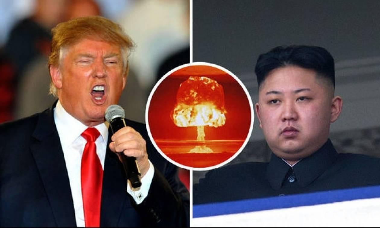 Αποτέλεσμα εικόνας για τραμπ βόρειος κορέα