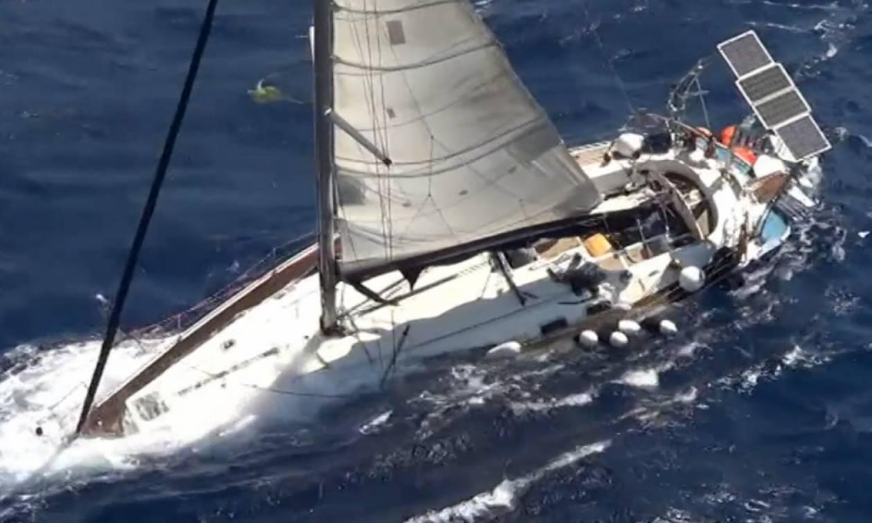 Συναγερμός στη Σκόπελο: Βουλιάζει σκάφος με 8 επιβαίνοντες