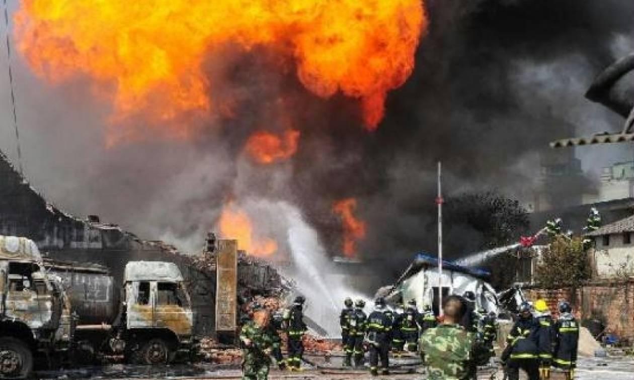 Κίνα: Πέντε νεκροί και δεκάδες τραυματίες από έκρηξη αγωγού φυσικού αερίου