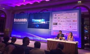 Diamonds of the Greek Economy 2017: Απονεμήθηκαν οι διακρίσεις στις επιχειρήσεις-διαμάντια