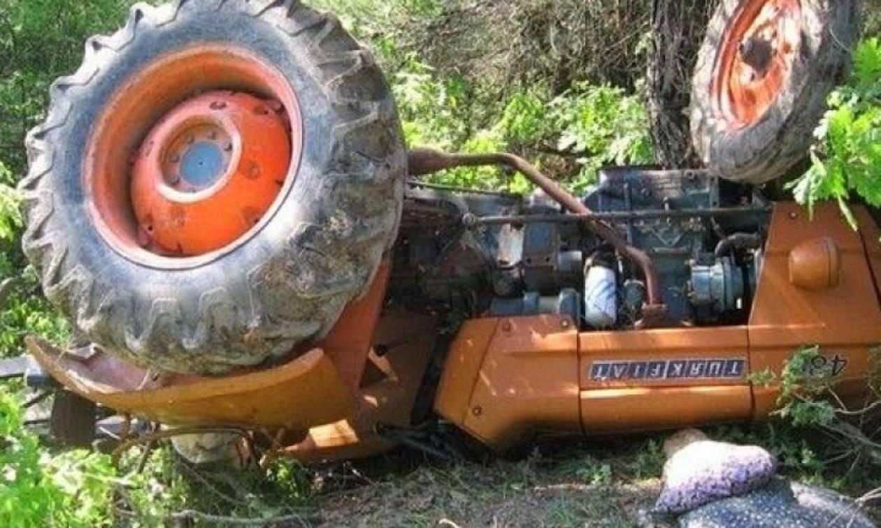 Τραγικός θάνατος αγρότη στην Τιθορέα: Καταπλακώθηκε από το τρακτέρ του