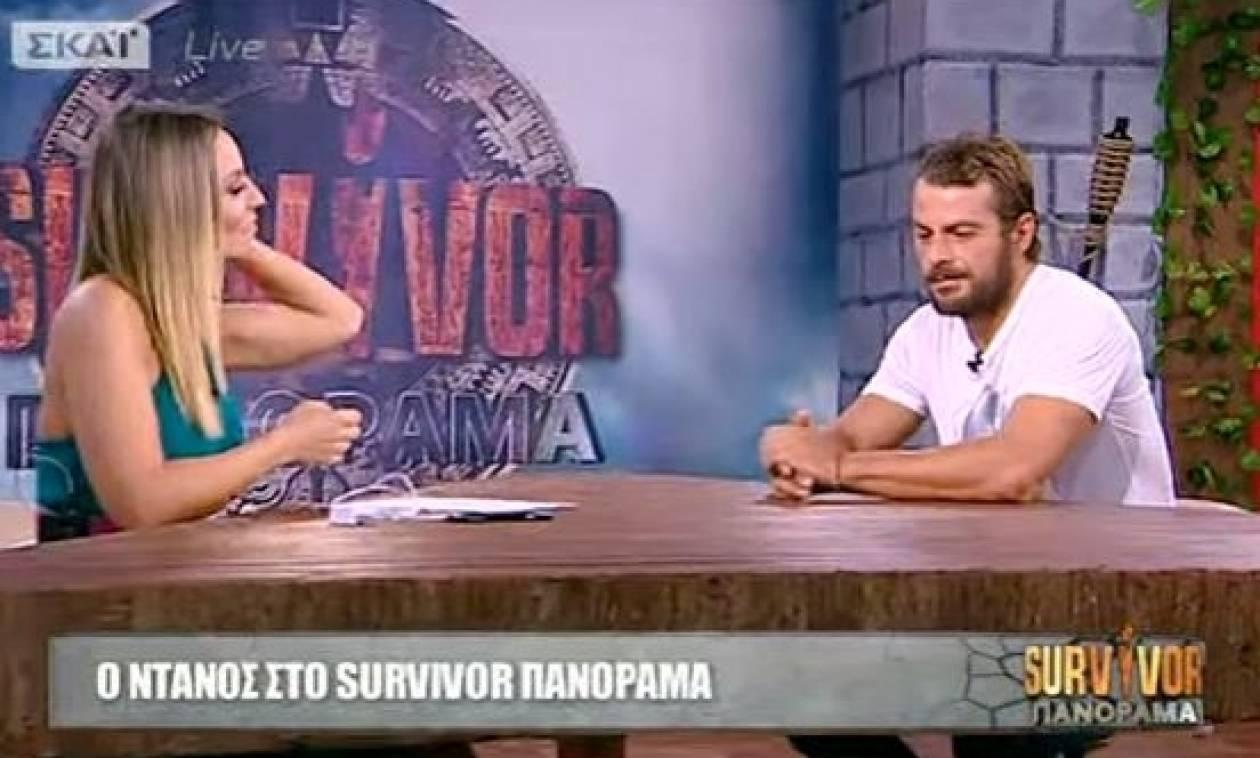 Survivor 2017: Δείτε LIVE την πρώτη συνέντευξη του Γιώργου Αγγελόπουλου
