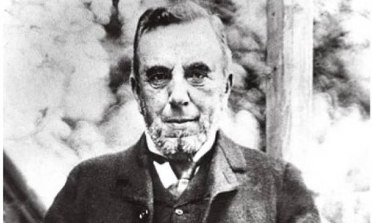 Σαν σήμερα το 1908 πέθανε ο ποιητής και πεζογράφος Δημήτριος Βικέλας