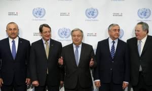 Κυπριακό: Χωρίς συμφωνία ολοκληρώθηκε η Διάσκεψη - Προσπάθειες να μην καταρρεύσει η όλη διαδικασία