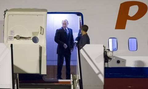 Путин прибыл в Гамбург на саммит G20