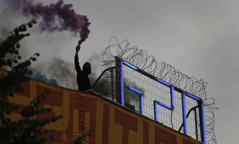 В Гамбурге в стычках с антиглобалистами пострадали 74 полицейских