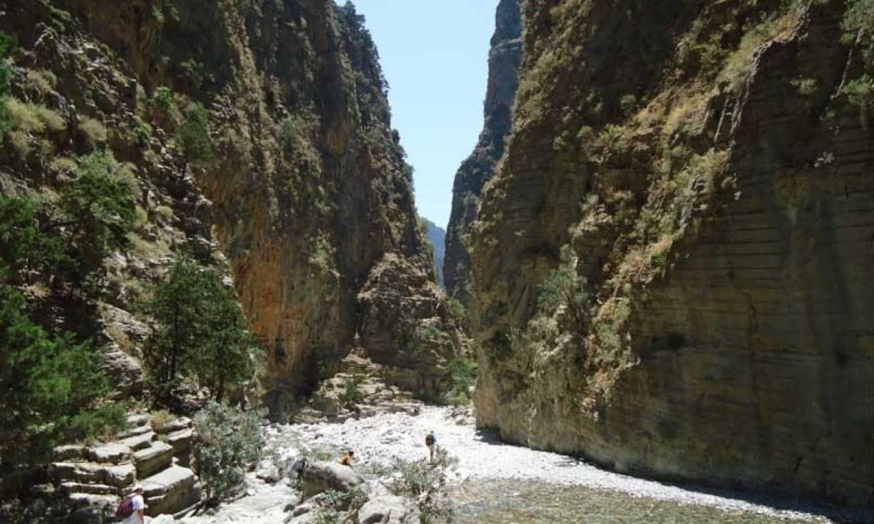 Κρήτη: Θρίλερ με Ιταλό τουρίστα που εγκλωβίστηκε σε χαράδρα